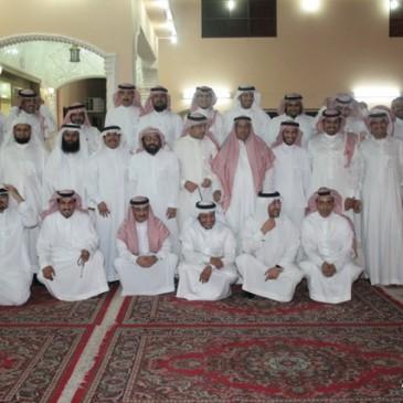 اجتماع خريجي جامعة البترول في حائل